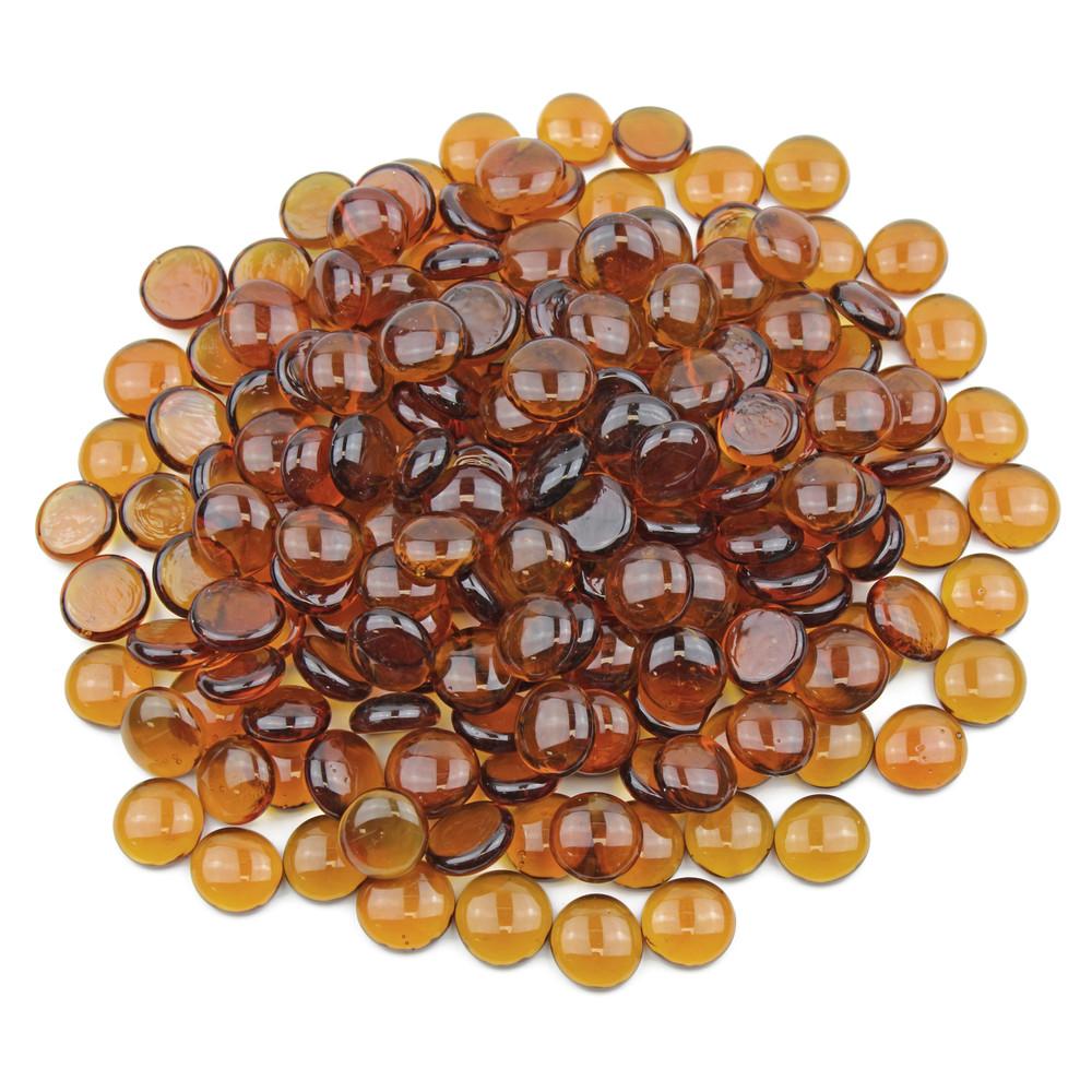 Orange Glass Gems