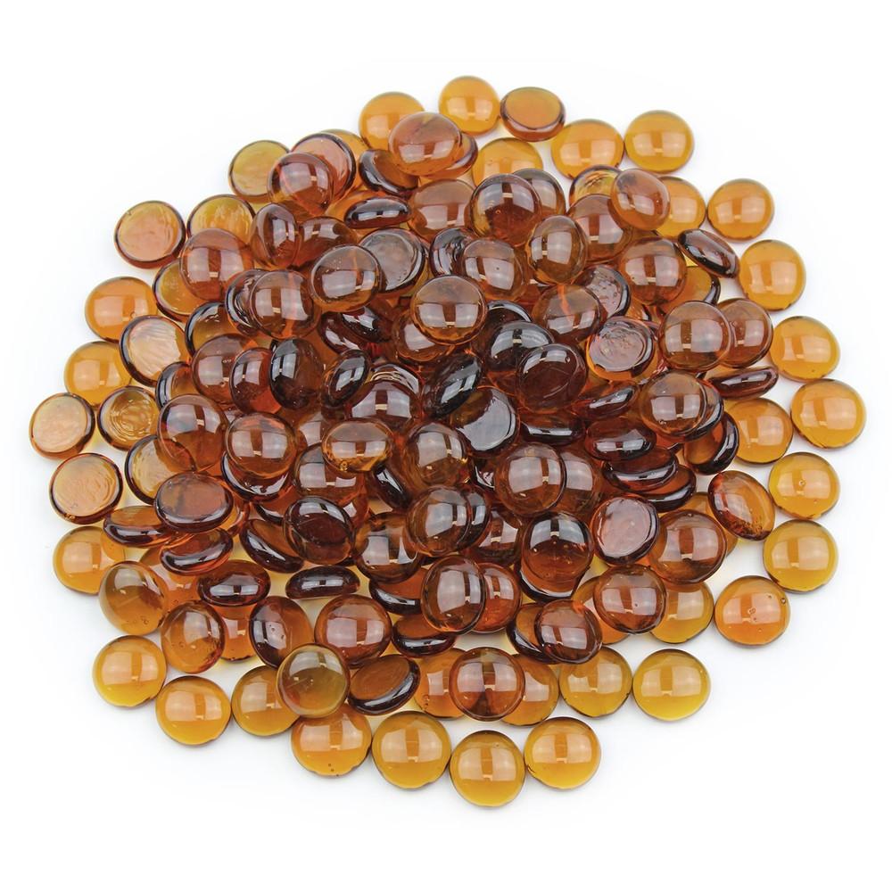 Amber Glass Gems