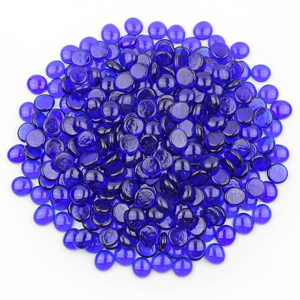 Sapphire Blue Glass Gems