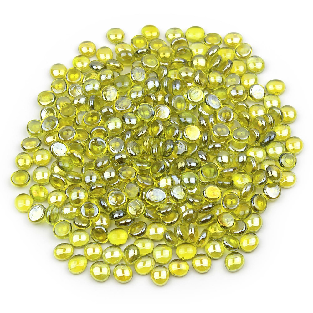 Yellow Glass Gems