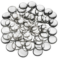 Clear Large Glass Gems