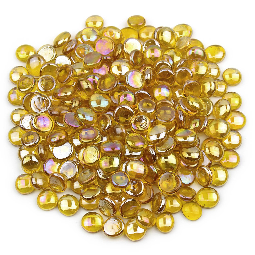 Yellow Glass Gems