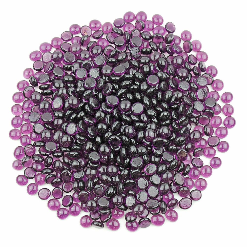 Purple Glass Gems