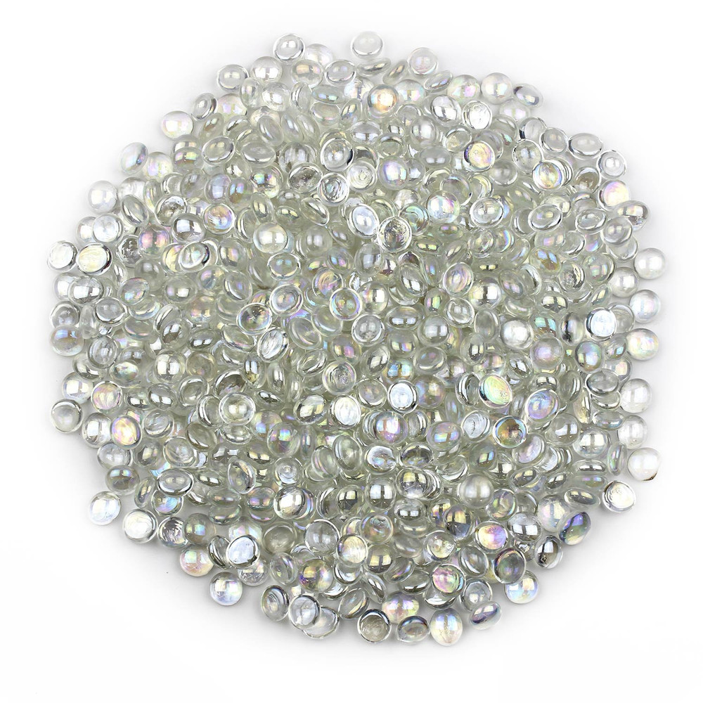 Clear Luster Glass Gems