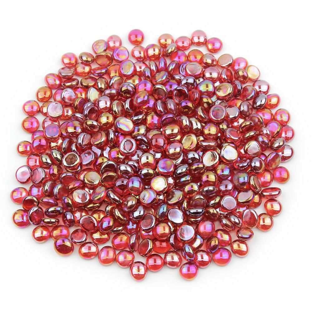 Red Luster Glass Gems