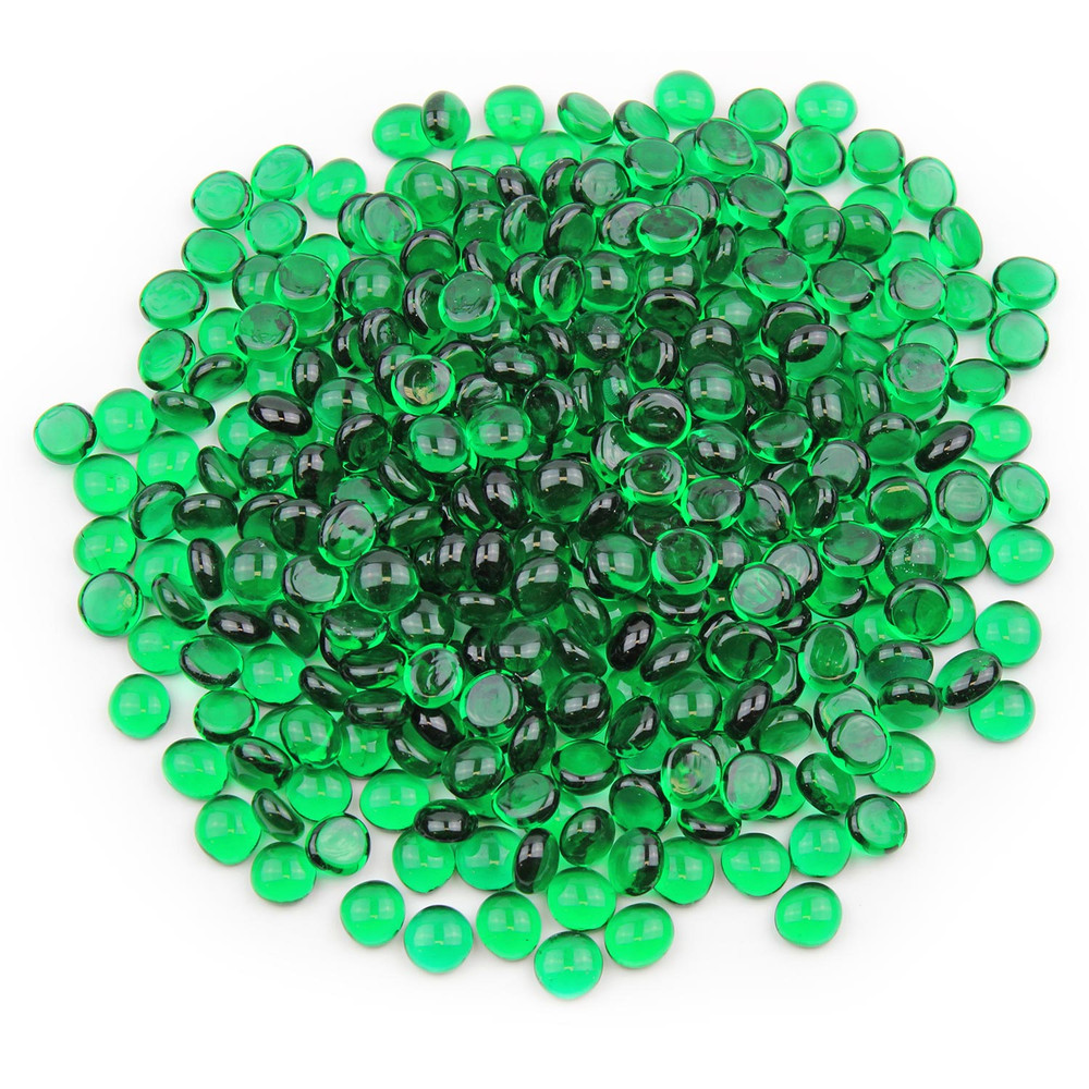 Emerald Green Glass Gems