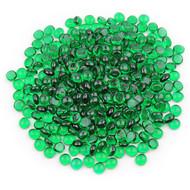Emerald Green Glass Gems