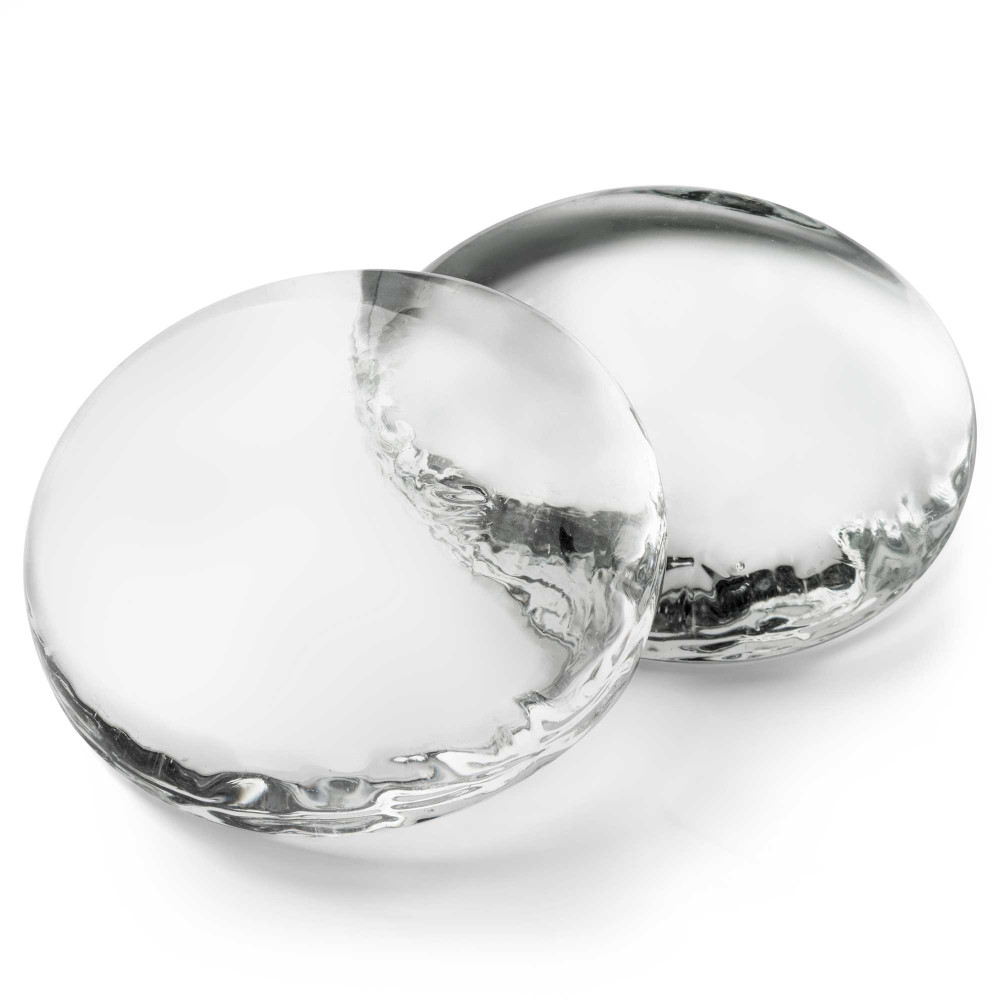 Extra Large Clear Glass Stones Detail