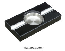 Two Cigar Ashtray - Rectangle