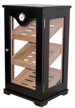 Large Display Humidor - Black