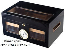 The Venetian Glass Top Humidor