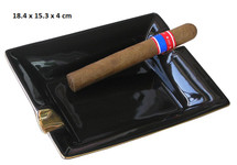 Two Cigar Ceramic Ashtray