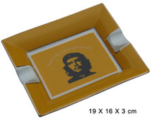 Two Cigar Ceramic Ashtray - Che Guevara