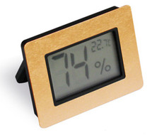 Digital Hygrometer - Gold