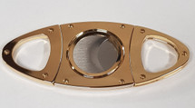 Metal Cigar Cutter - Gold