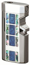 Sarome BM5 Jet Flame Lighter - Blue Epoxy