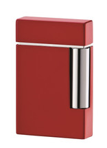 S.T. Dupont Ligne 8 Lighter - Lacquer & Chrome Red