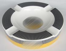 Round Cohiba Ceramic Ashtray