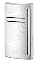 S.T. Dupont MaxiJet Lighter - Chrome Grey Vibration