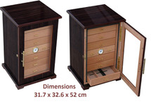 7 Drawer Cigar Cabinet -