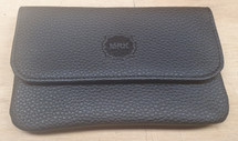 Leather tobacco pouch - Black
