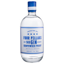 Four Pillars Navy Strength Gunpowder Proof Gin - Front