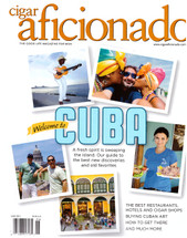 Cigar Aficionado Magazine - June 2015