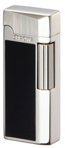 Sarome SD41 Flint Lighter - Black Epoxy Resin