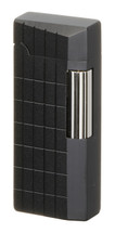 Sarome SD41 Flint Lighter - Matte Black Diamond Cut