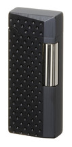Sarome SD41 Flint Lighter - Black Dimple