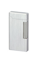 Sarome SD6 Flint Lighter - Silver Hairline