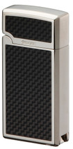 Sarome BM15A Jet Flame  - Silver & Carbon Fibre with Punch