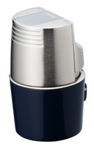 Sarome T3BM Triple  Jet Lighter - Blue Silver