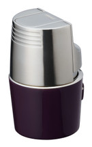 Sarome T3BM Triple Jet Lighter - Purple Silver