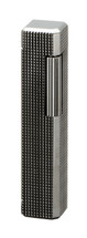 Sarome PSD36 Pipe Lighter - Gray Latice Diamond Cut