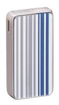 Sarome SK161 Silver & Blue Stripe