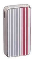 Sarome SK161 Silver & Red Stripe