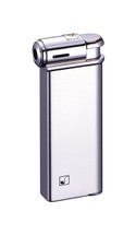 Sarome PSP Piezo Electronic Pipe Lighter - Silver Satin