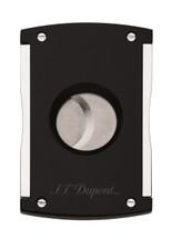 S.T Dupont Cigar Cutter - Maxijet Black Laquer & Chrome