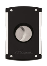 S.T Dupont Cigar Cutter - Maxijet Black Laquer & Chrome