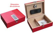 Small Desktop Humidor - Ferrari Design