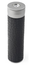 Cigar Tube Travel Humidor - Black PVC Leather