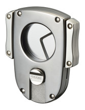 Sarome EXCT2 Butterfly Cigar Cutter -Gray Satin