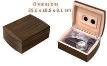 Humidor Gift Set - Walnut