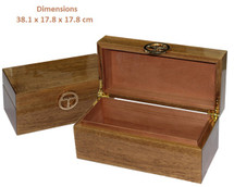 High Gloss Olive Wood Humidor