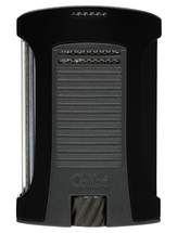Colibri Daytona Single Jet Lighter -Matte Black & Charcoal
