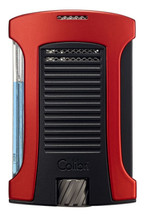 Colibri Daytona Single Jet Lighter - Red & Black