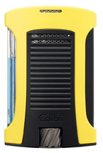 Colibri Daytona Single Jet Lighter - Yellow & Black