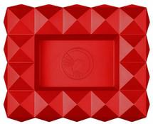 Colibri Quasar Ashtray - Red