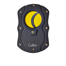 Colibri Cigar Cutter - black & yellow blades